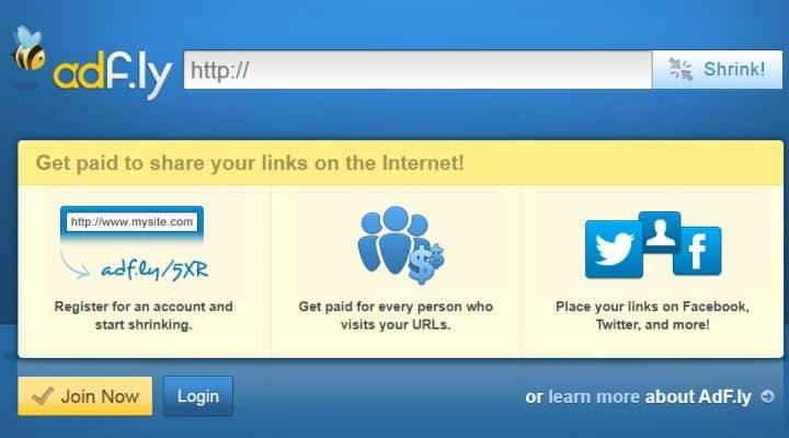 how to make money with top url shorteners?
