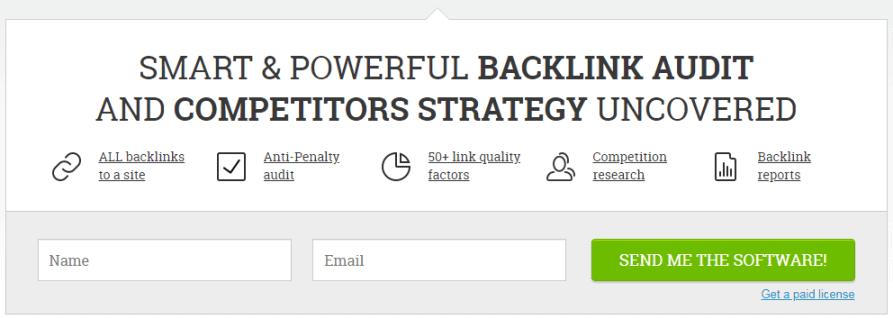 SEO PowerSuite SpyGlass Backlink Auditor