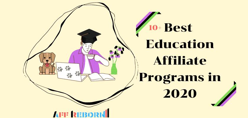 Best Education Affiliate Programs in 2020