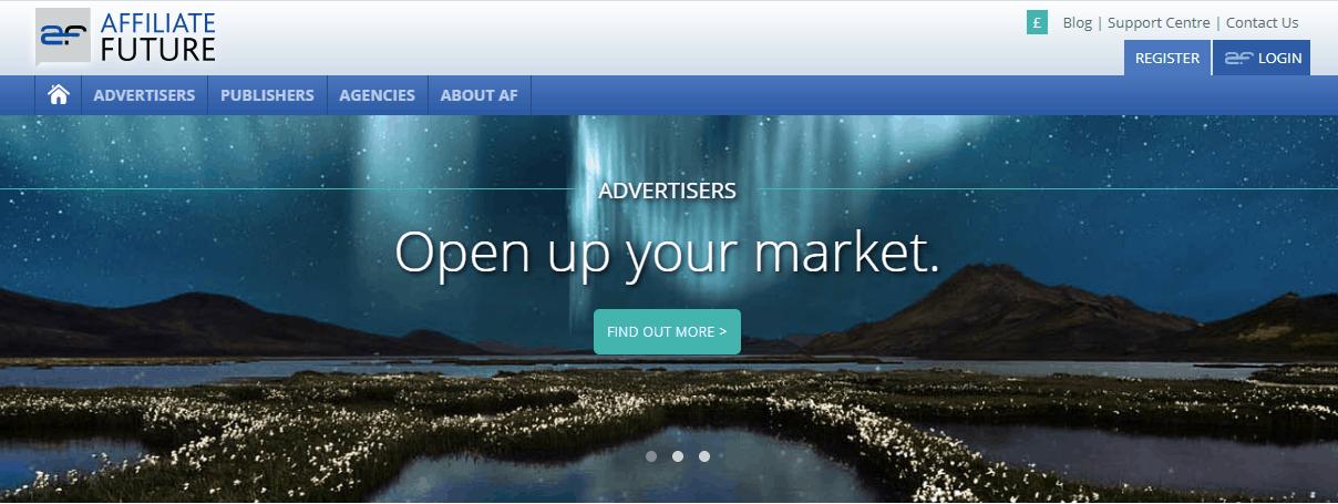 affiliatefuture-homepage