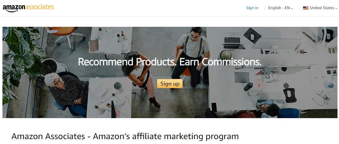 amazon associates best cps affiliate network
