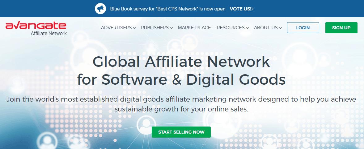 avangate best cps affiliate network
