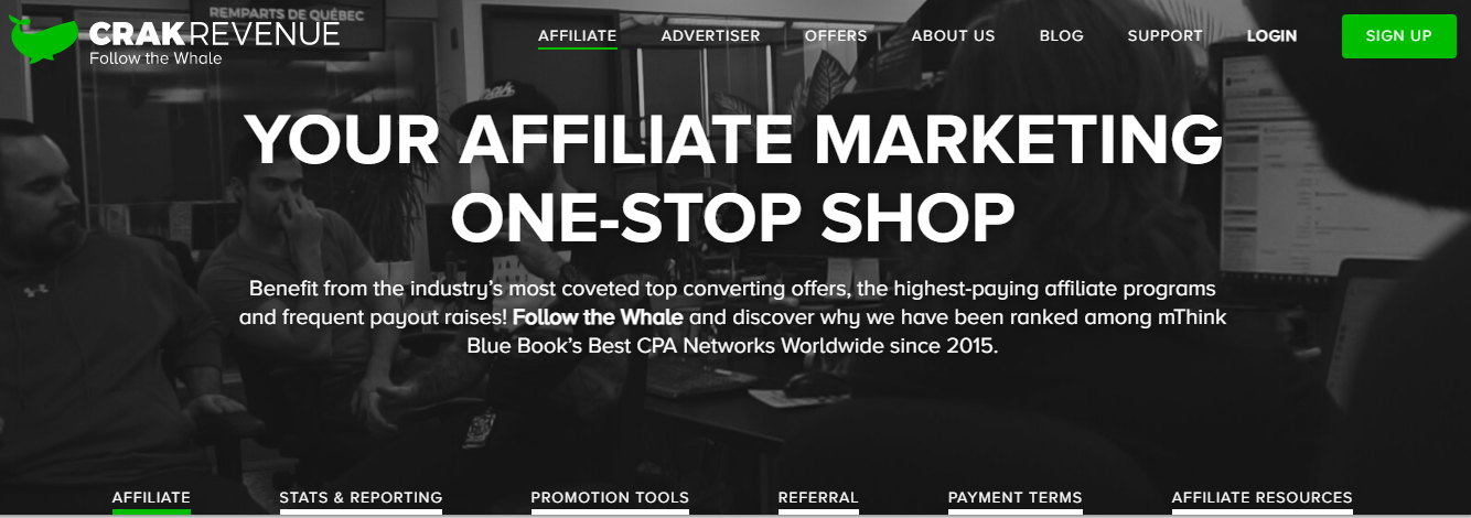 crakrevenue-top-cpl-affiliate-network