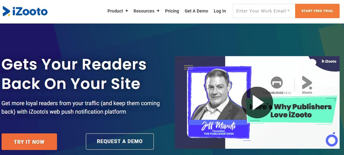 izooto-homepage