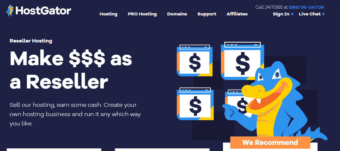 hostgator-best-resellerclub-alternatives-and-competitors