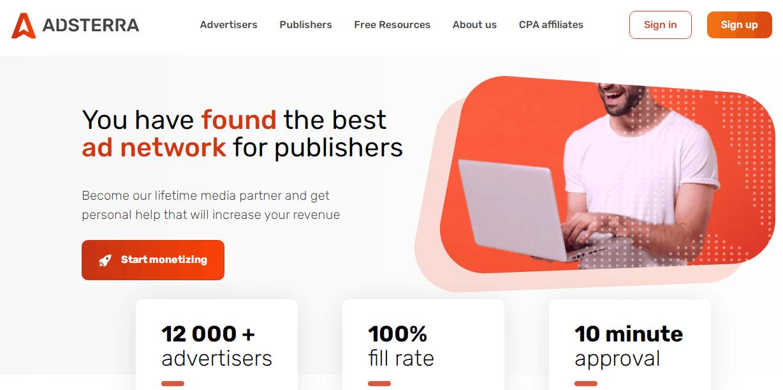 adsterra-best-ad-network-for-publisher-monetization-platform
