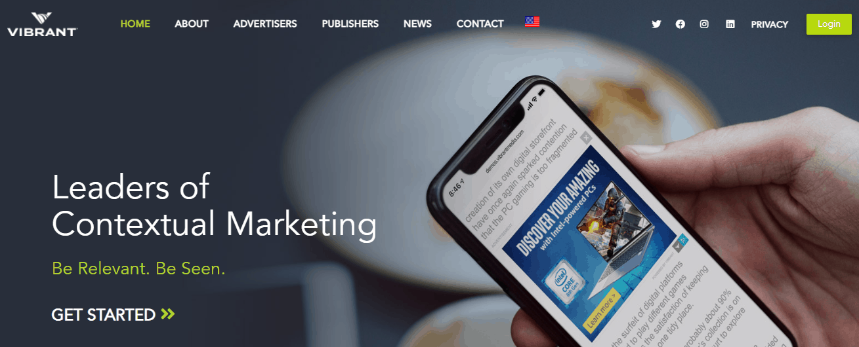vibrant-media-homepage