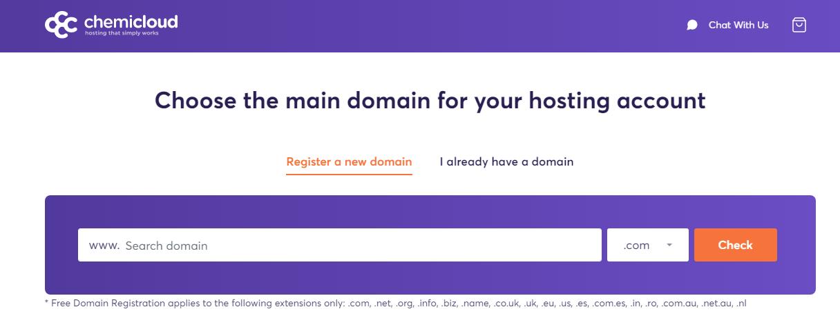 chemicloud-domain-name-registration