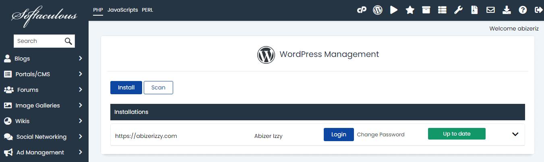 install-wordpress-in-chemicloud-cpanel